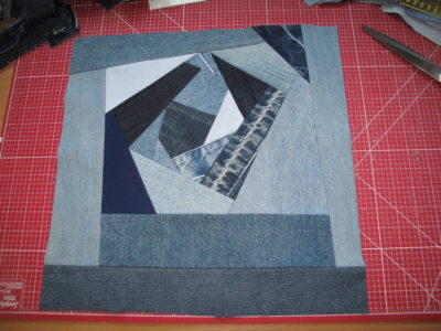Crazy Patchwork Tutorial – Stoff und Zwirn