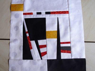 Ein moderner Quilt  aus Resten, Part 1 + 2